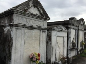 Lafayette Cemetery which was on the Garden District free tour