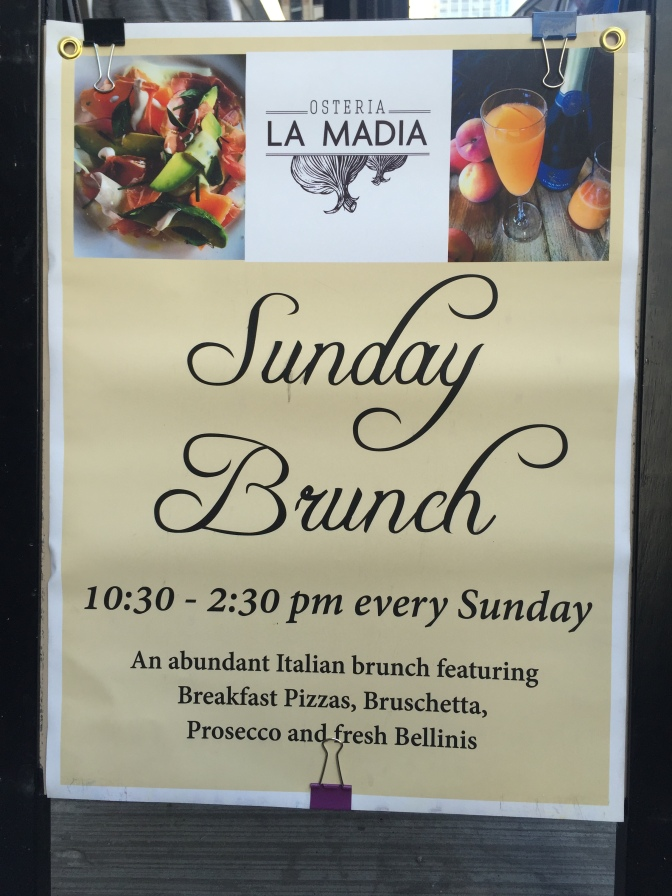 Restaurant for Two: Osteria La Madia