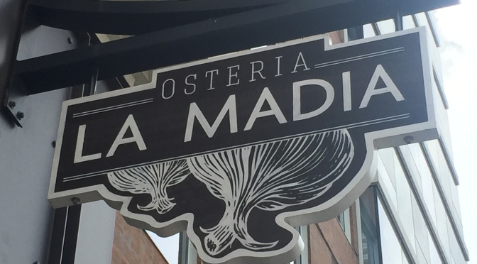 Restaurant for Two: Osteria La Madia, Lunch & Dinner Edition