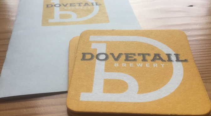 Restaurant for Two: Dovetail Brewery